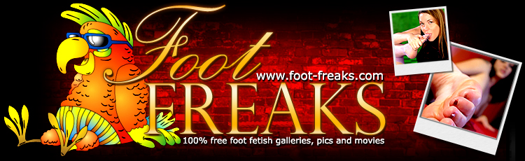 Foot fetish pics and videos from Foot Freaks!